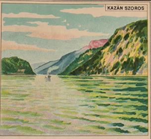 Kazán szoros a népiskolai atlaszból