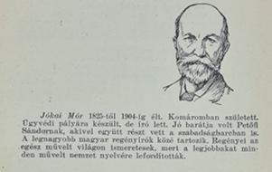 Jókai Mór bemutatása az olvasókönyvben