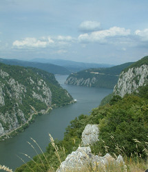 A Kazán-szoros a Djerdap Nemzeti Parkból (fotók: Pifkó Dániel)