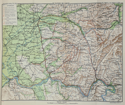 Térképek: kirándulási útvonalak és tektonikus rajz