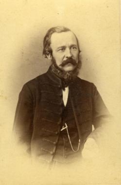 Báró Eötvös József, Schrecker Ignác felvétele 1865. OPKM tulajdona