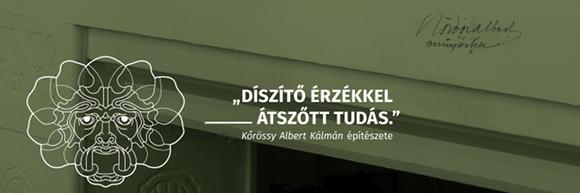 Kőrössy Albert Kálmán építészete - 2019. szeptember 20. - október 31.