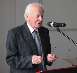 Jáki László utolsó előadása az OPKM Ady-konferenciáján, 2019. október 5-én