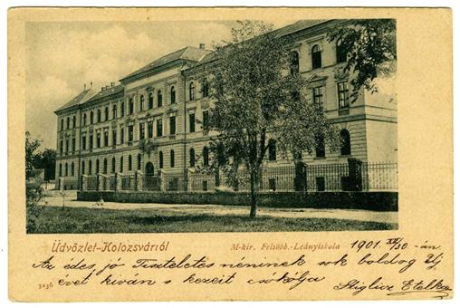A kolozsvári magyar királyi felsőbb leányiskola