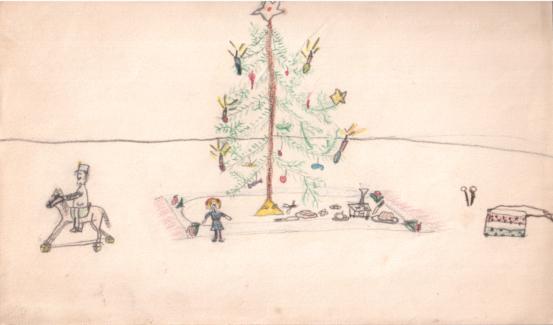 Petrich Kató: Karácsony (1915)