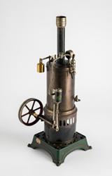 Működtethető gőzgépmodell