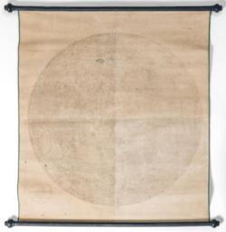 Hold látható felének nagyméretű térképe