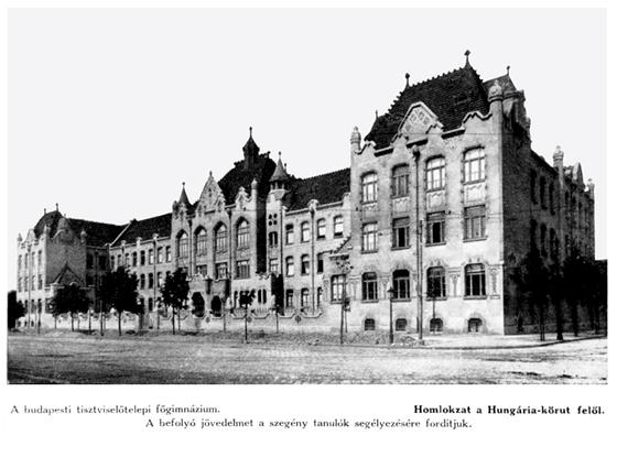 A budapesti tisztviselőtelepi főgimnázium