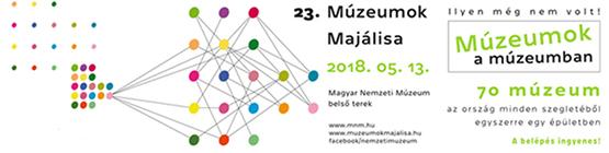 Múzeumok Majálisa 2018